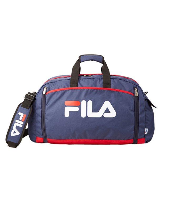 カバンのセレクション フィラ ボストンバッグ 修学旅行 50L 男の子 女の子 メンズ レディース FILA 7583 ユニセックス ネイビー系1 フリー 【Bag & Luggage SELECTION】