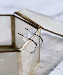 colleca la/[silver925]小さめセミフープピアス/502901618