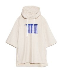 FURFUR/シャイニングロゴ刺繍パーカー/502902387