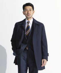 gotairiku/【春コート】【ADS】シャンブレーメランジステンカラーコート/502902396