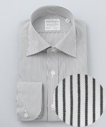 gotairiku/【形態安定】PREMIUMPLEATS ドレスシャツ / セミワイドカラー ブラ/502902398