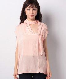 SISLEY/サテンリボンタイフレンチシャツ・ブラウス/502514697