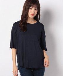 Afternoon Tea LIVING/【セットアップ対応商品】YOGAポケット付きTシャツ/502876978