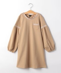 green label relaxing (Kids)/【キッズ】袖バルーン 刺しゅう ワンピース/502881951