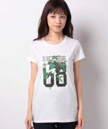 SISLEY/クロスミニフリル半袖Tシャツ・カットソー/502892046