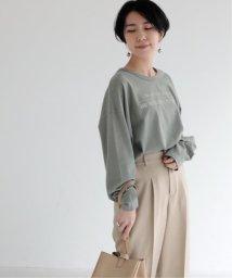 mjyuka/ロゴ天竺長袖TEE/502906475