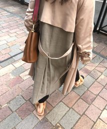 marjour/BACK CHECK TRENCH/502906582