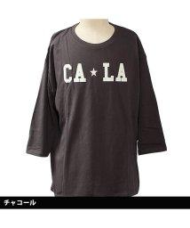 NEXT WALL/「819-00」 レディース柄込みBIG 7分Tシャツ/502906643