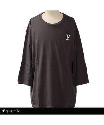 NEXT WALL/「819-00」 レディース柄込みBIG 7分Tシャツ/502906646