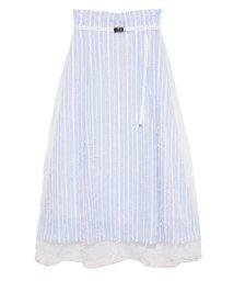 FURFUR/メッセージ刺繍スカート/502906673