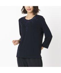 Liliane Burty/スパンコール刺繍加工 エレガンスTシャツ/502907820