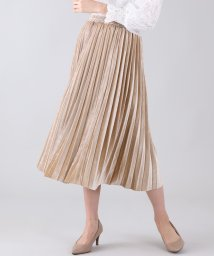 BLUEEAST/ベロア×プリーツスカート/502725090