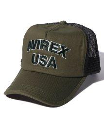 AVIREX/AX KING SIZE MESH CAP USA/502885001