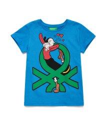 BENETTON (UNITED COLORS OF BENETTON GIRLS)/【Popeyeコラボ】オリーブ&ロゴTシャツ・カットソー/502892067
