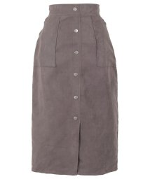KOBE LETTUCE/フロントボタンタイトスカート [M2750]/502908425
