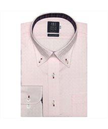 BRICKHOUSE/ワイシャツ長袖形態安定 ボタンダウン綿100% ピンク系/502908561