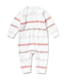 gelato pique Kids&Baby/【BABY】'ベビモコ'マルチボーダー baby ロンパース/502908993
