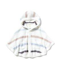 gelato pique Kids&Baby/【BABY】'ベビモコ'マルチボーダー baby ポンチョ/502908995