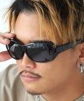 LUXSTYLE/オーバルサングラス/サングラス メンズ レディース グラサン バタフライ オーバル/502909197