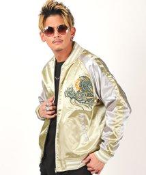 LUXSTYLE/龍刺繍スカジャン/スカジャン メンズ ジャケット 刺繍 龍 ジャンパー/502909200