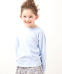ROPE' PICNIC KIDS/【ROPE' PICNIC KIDS】メッセージロングTシャツ/502909750