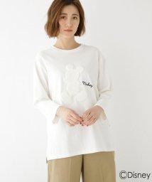 BASECONTROL/DISNEY ディズニー ミッキーマウス/七分 Tシャツ/502910134