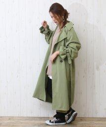 SocialGIRL/キャンディー袖トレンチコート/500866740