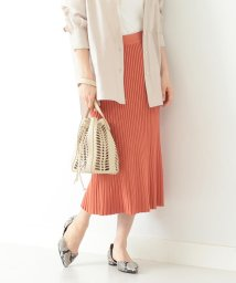 Demi-Luxe BEAMS/Demi-Luxe BEAMS / プリーツ風 ニットスカート/502872594
