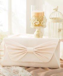 DRESS STAR/【結婚式・お呼ばれに使えるパーティーバッグ】リボンデザインサテンパーティークラッチバッグ/502907896