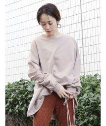 COTORICA./ミニ裏毛クルーネックプルオーバー/502910529