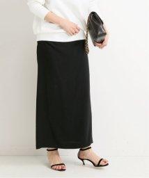 VERMEIL par iena/《予約》ACE/E二重織りドレープタイトスカート◆/502913300