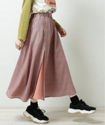 DOUBLE NAME/アシメスリットオリジナル花柄スカート/502913559