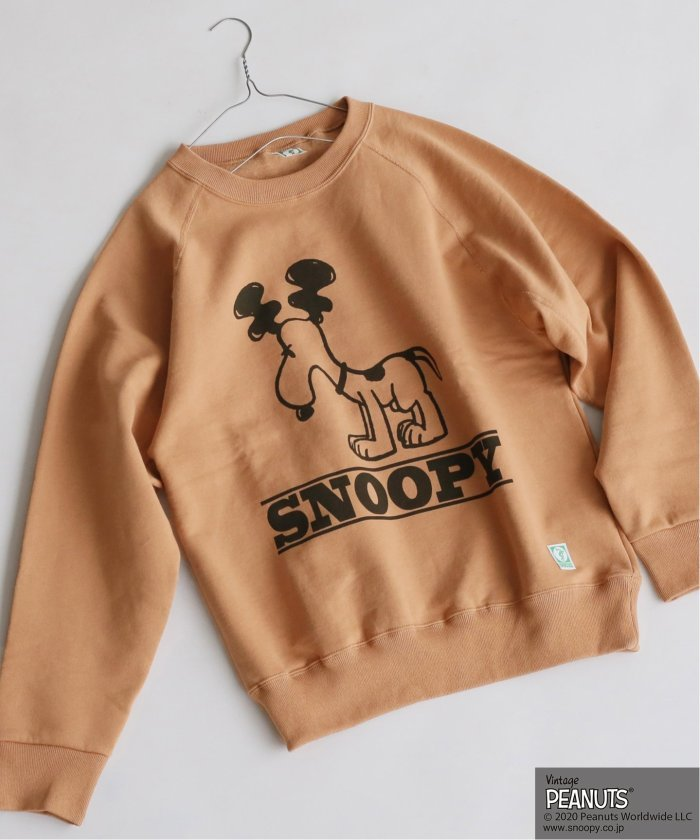 【PEANUTS×DISCUS for relume】SNOOPY スウェット