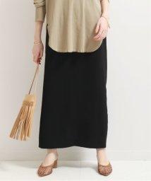 NOBLE/《追加2》バックスリットIラインスカート◆/502914478