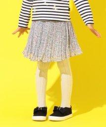 KUMIKYOKU KIDS/【110-140cm】シフォンフラワープリーツ スカート/502914584