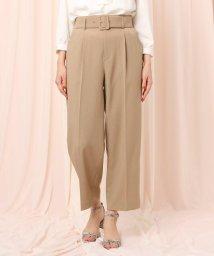 Couture Brooch/【WEB限定サイズ(LL)あり】ベルテッドワイドパンツ/502914601