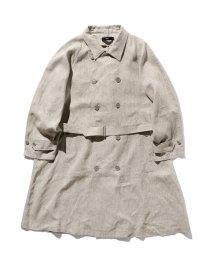 BEAMS MEN/VAPORIZE / Linen Trench Coat/502914668