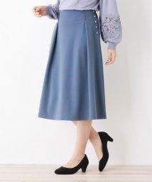 grove/【S-LLまで】サイドボタンAラインスカート/502915004