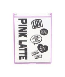 PINK-latte/折りたたみメッセージミラー/502915008