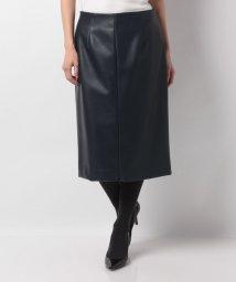 LAPINE BLEUE/ロイヤルレザータイトスカート/501368361