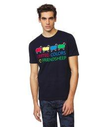 BENETTON (mens)/カラーシープロゴ半袖Tシャツ・カットソー/502892081