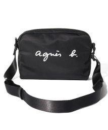 agnes b. Voyage/OAS10-01 ショルダーバッグ/502901336