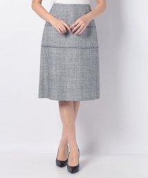 LAPINE BLANCHE/【セットアップ対応】ラメ混ミックスツィード スカート/502907523