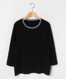 LAPINE ROUGE/【大きいサイズ】ピンタックアクセント セーター/502907530