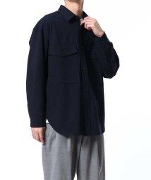 ADAM ET ROPE'/BANSWARA CPOシャツ/502915980