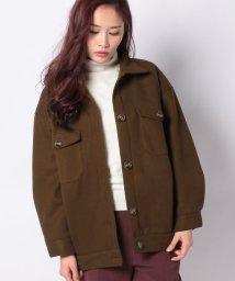 STYLEBLOCK/メルトン中綿CPOジャケットシャツジャケットコート/502879612