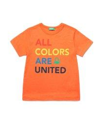 BENETTON (UNITED COLORS OF BENETTON BOYS)/カラフルロゴTシャツ・カットソー/502912968