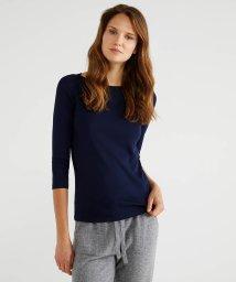 BENETTON (women)/ボートネック7分袖Tシャツ・カットソー/502912988