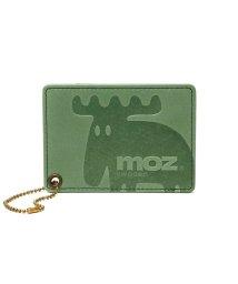 moz/モズ パスケース moz 定期入れ ICカード Elk スウェーデン 通学 本革 ZNWE-86004/502916831