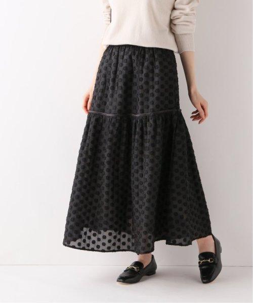 IENA(イエナ)/【MARILYN MOON/マリリンムーン】ドットスカート/20060910005110